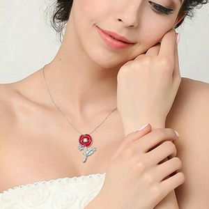 Jewelry - NEW S925 Large Red Solo Poppy Flower